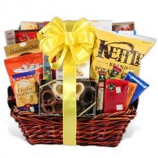 Gourmet Snack & Chocolate Basket