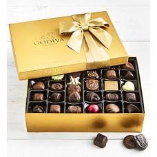 Godiva Gold Ballotin Chocolates Box